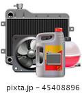 ラジエーター ラジエター 部品のイラスト 45408896