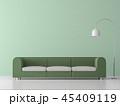 ミニマル グリーン 緑色のイラスト 45409119