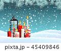 キャンドル 燈篭 ランタンのイラスト 45409846