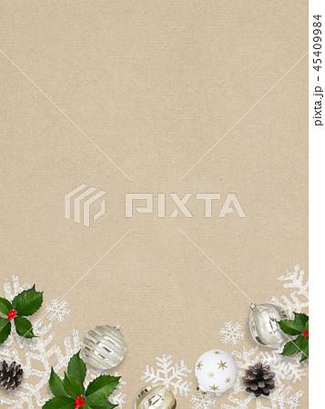 背景-紙-クリスマス-飾り 45409984