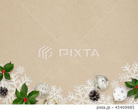背景-紙-クリスマス-飾り 45409985