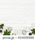クリスマス 背景 壁のイラスト 45409986