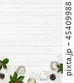 クリスマス 背景 壁のイラスト 45409988