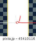 市松模様 和紙 水引のイラスト 45410116