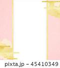 和柄 ピンク 背景のイラスト 45410349