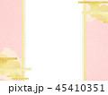 和柄 ピンク 背景のイラスト 45410351