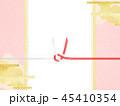 和柄 ピンク 水引のイラスト 45410354
