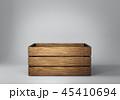 木製 BOX ボックスのイラスト 45410694