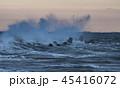 荒波 波 海の写真 45416072