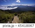 山脈 山岳 ヒルズの写真 45418067
