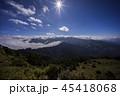 山脈 山岳 ヒルズの写真 45418068