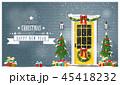 クリスマス あいさつ グリーティングのイラスト 45418232