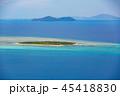 海 空撮 晴れの写真 45418830