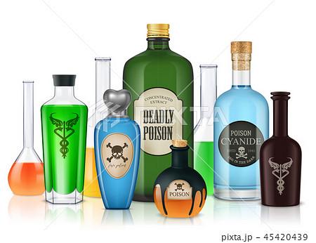 Magic Poison Vessels Composition 45420439