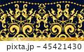 バロック様式 オーナメント 装飾のイラスト 45421430