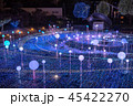 クリスマス 光 ネオンの写真 45422270