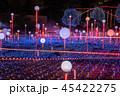 クリスマス 光 ネオンの写真 45422275