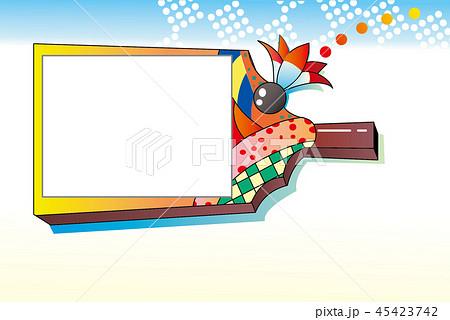 年賀状, フレーム, 年賀状テンプレート, 羽子板, 新年, 年賀状素材, 日本, 伝統玩具, 写真はめ込み, 挨拶, 正月, 年賀, イラスト, コピースペース, ハガキテンプレート, フォトフレーム, 白バック, 年賀素材, ポストカード, ベクター, テンプレート, 背景, 枠, 素材, 伝統工芸, 羽根, 遊具, 年中行事, 伝統, 青空, 春  タグ変更