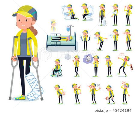 flat type Sportswear women_sickness 45424194