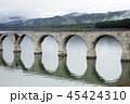 6月 早朝のタウシュベツ川橋梁 -北海道のアーチ橋跡- 45424310