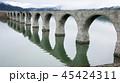 6月 早朝のタウシュベツ川橋梁 -北海道のアーチ橋跡- 45424311