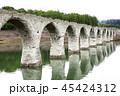 6月 早朝のタウシュベツ川橋梁 -北海道のアーチ橋跡- 45424312