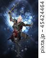 戦士 エルフ ファンタジーのイラスト 45424464