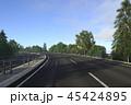 高速道路を走る 45424895