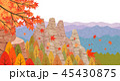あき 秋 紅葉のイラスト 45430875