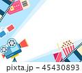 のぼり バナー イベントのイラスト 45430893