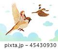 イラスト 挿絵 動物のイラスト 45430930