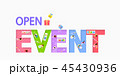デザイン 柄 イベントのイラスト 45430936