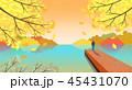 あき 秋 紅葉のイラスト 45431070