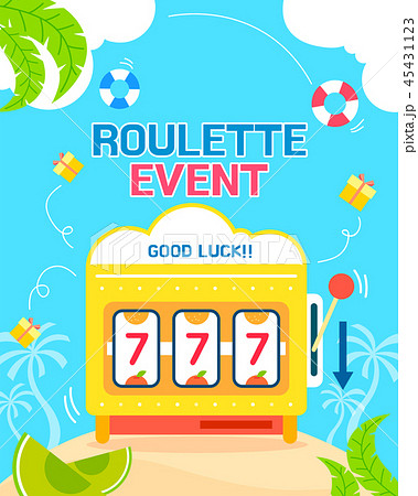 Shopping roulette event template design vector illustration 004 45431123