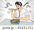 コミック 漫画 サカナのイラスト 45431151