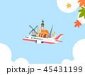 Korean ornament for blank template. banner, greeting card design vector illustration 034 45431199