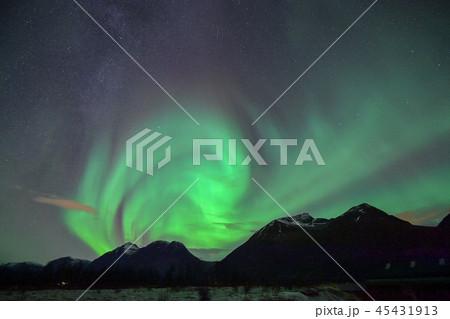 ノルウェー トロムソのオーロラ 45431913