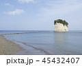 見附島 海 風景の写真 45432407