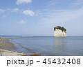見附島 海 風景の写真 45432408