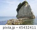 見附島 海 風景の写真 45432411