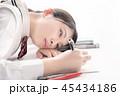 高校生 女子高生 勉強の写真 45434186