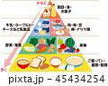 フードピラミッド 45434254