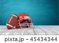ヘルメット かぶと アメリカンフットボールのイラスト 45434344