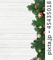クリスマス 背景 壁のイラスト 45435018