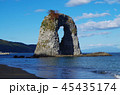 鍋釣岩 岩 日本海の写真 45435174