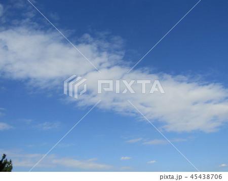 稲毛海浜公園の青い空に白い雲 45438706