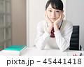 高校生 女子高生 勉強の写真 45441418