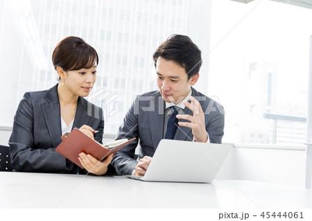 オフィス ビジネス 打合せ コンサルタント 45444061