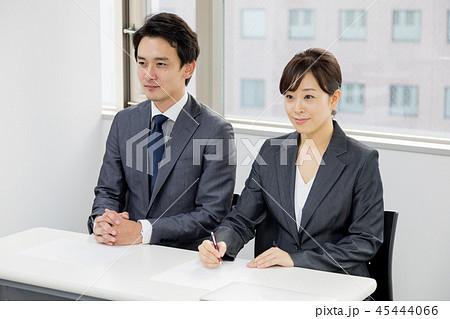 オフィス ビジネス 打合せ コンサルタント 入社 面接 45444066