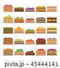 木箱 収穫 実りのイラスト 45444141